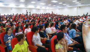 Các hội thảo về nhân sự luôn thu hút nhiều bạn trẻ tham gia