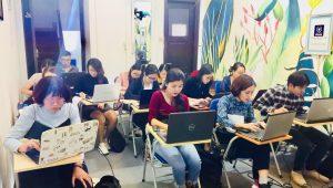 Lớp học hành chính nhân sự tại trung tâm VinaTrain