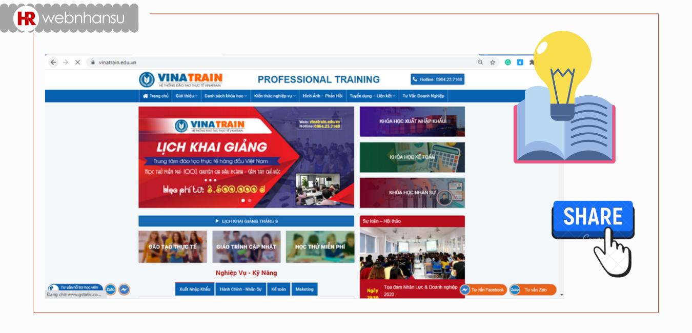 Chính sách hỗ trợ học viên của VinaTrain rất thu hút.